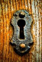 Wood Brass Keyhole